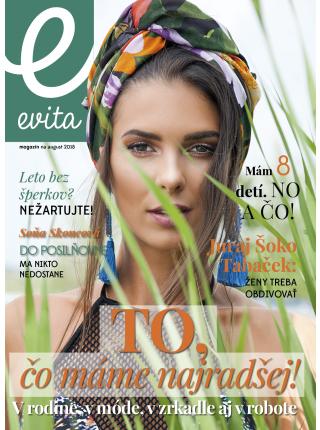 Evita magazín - august 2018