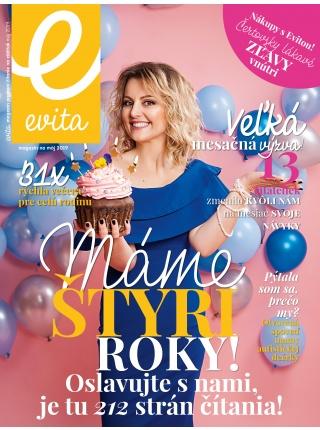 Evita magazín - máj 2019