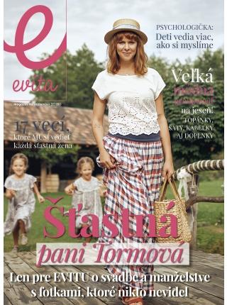 Predplatné magazínu EVITA 2018