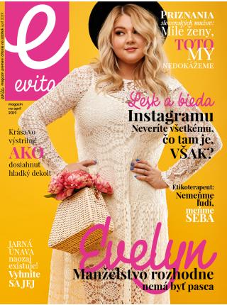 Predplatné magazínu EVITA 2019