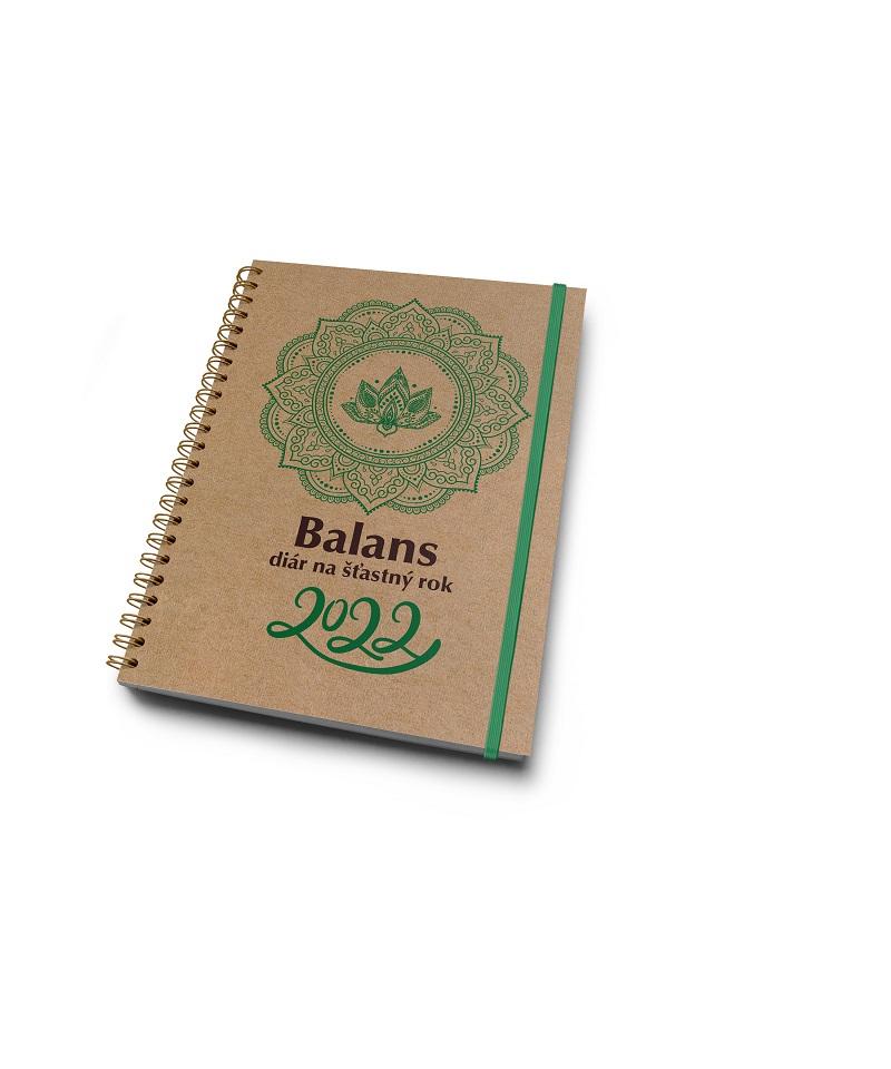 Balans diár na šťastný rok 2022